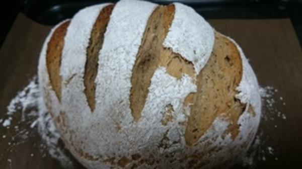 動物性不使用の米パンがうまく出来た^^
