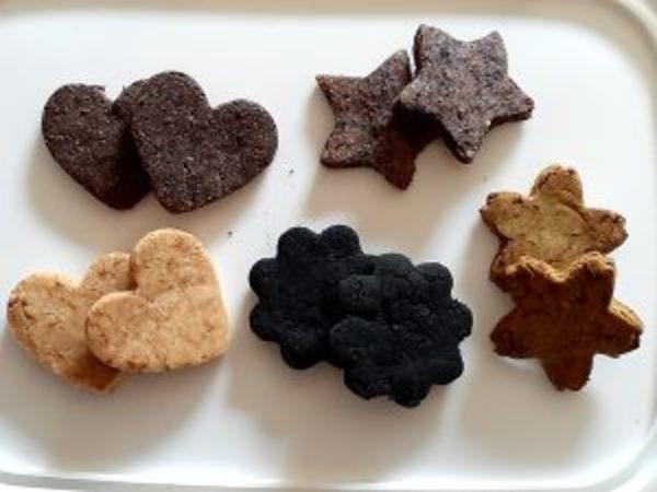 ノンオイル米粉クッキーを焼いてみた(笑