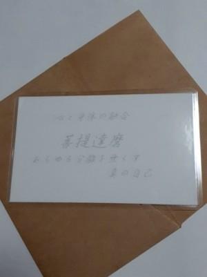 菩提達磨(ぼでぃだるま)仏様 守護カード