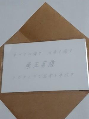 薬王菩薩(やくおうぼさつ) 仏様 守護カード