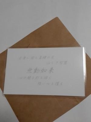 無動如来(むどうにょらい) 仏様 守護カード