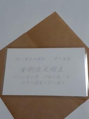 金剛夜叉明王(こんごうやしゃみょうおう) 仏様 守護カード