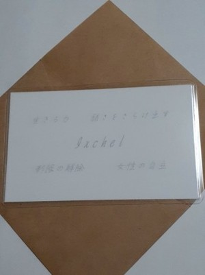 Ixchel(イシュチル)女神様 守護カード
