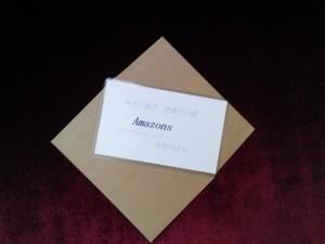 Amazons(アマゾネス)女神様 守護カード